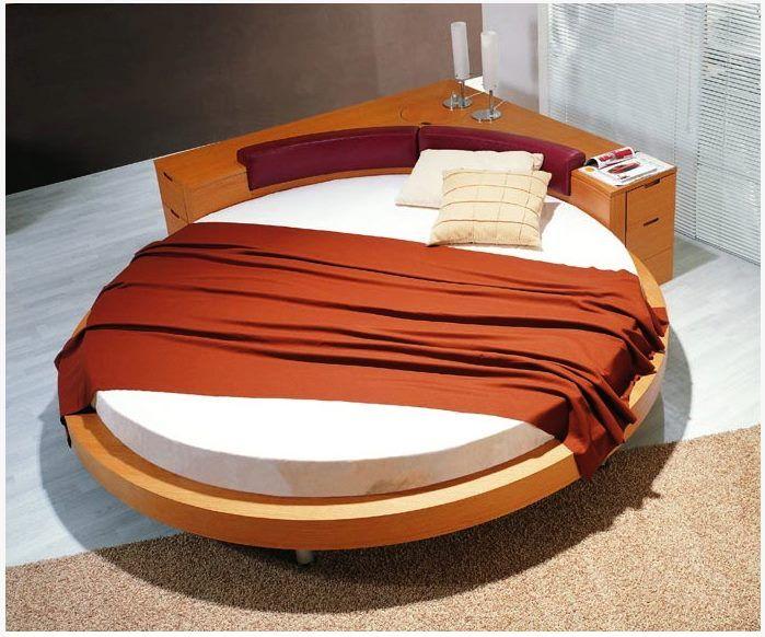 Овальная кровать фото