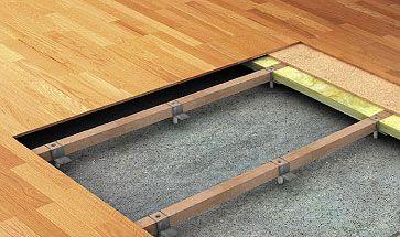 основа для деревянного пола