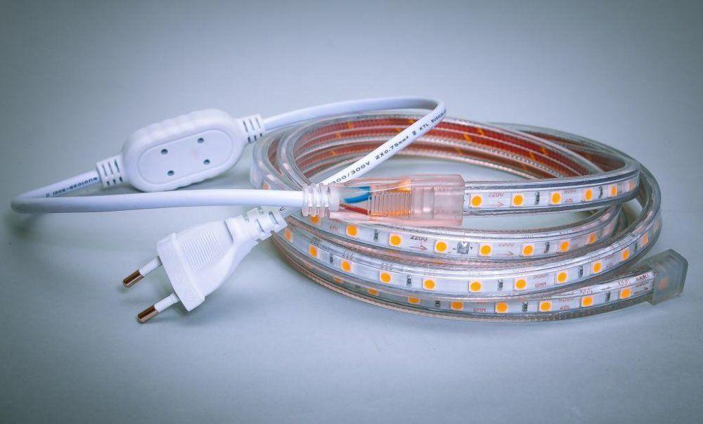 Как сделать светодиодную ленту для 220 261
