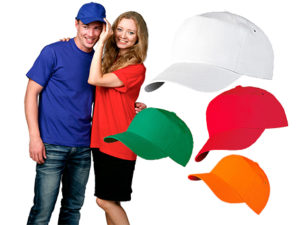 Реклама на кепках
