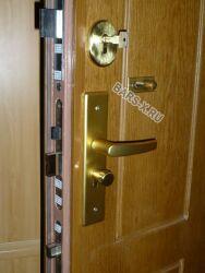 замена и установка замка входной двери