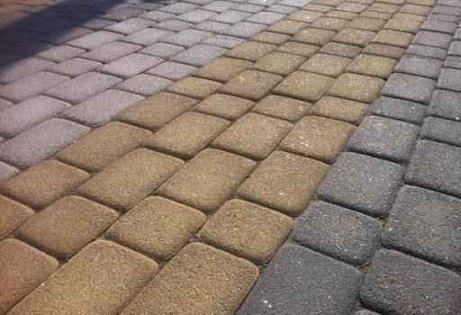 Использование тротуарной плитки